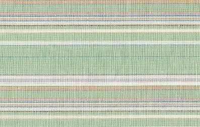 Soft Green Multi-colored Stripe Linen Blend