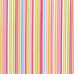 Slender Stripes On Cotton Flannel