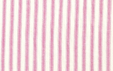 Pink And White Strip Flannel
