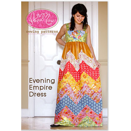 Evening Empire Dress Pattern