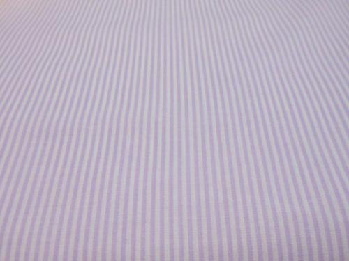 Smocking Stripes Lavender Imperial Broadcloth
